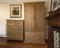 Henry Natural Teak 2 Over 3 Chest - This beautiful and sophisticated chest of drawers is crafted from reclaimed teak and combines contemporary good looks with the rustic beauty of the old wood.