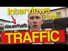 TrafficTipp: Wie Interviews 1x erstellt dir [dauerhaft] Traffic bringt ***
