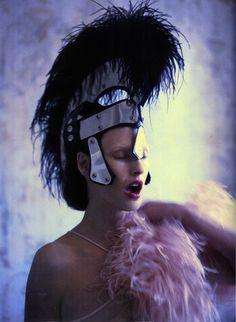"""The Misfits"" Linda Evangelista by Mert Alas & Marcus Piggott for Love #7 SS12 #editorial"
