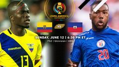 Copa America Centenario Match Recap | Ecuador 4, Haiti 0 | (June12th, 2016 @ MetLife Stadium in New Jersey) | Needing a win by at least two goals to guarantee passage into the quarterfinals, La Tri surged to rout Haiti on Sunday evening. Enner Valencia led the way with a goal and two assists. Christian Noboa also had a goal and an assist  and Jaime Ayovi and Antonio Valencia both scored for La Tri. Due to goal differential, Ecuador finish second in Group B  and will meet the US in Seattle. Champions League Football, Football Tournament, Ecuador, Copa America Football, Enner Valencia, Copa America Centenario, Metlife Stadium, League Gaming, Once In A Lifetime