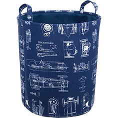 Navy Storage Basket