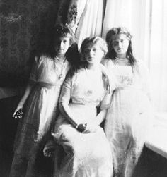 Grand Duchesses Anastasia, Olga and Maria