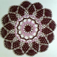 Items similar to 15 inch handmade doily burgundy and pink, cotton on Etsy Lace Doilies, Crochet Doilies, Crochet Round, Perfect For Me, Blue Lace, White Cotton, Burgundy, Pink, Handmade