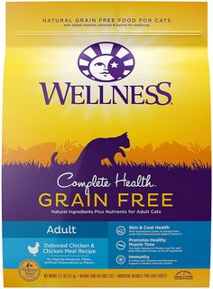 The whole Senior Cat Nutrition Wellness Full Health recipe has been specially formulated to support cats with their diet. Healthy Fiber, Healthy Eyes, Senior Cat Food, Cat Nutrition, Cat Reading, Dry Cat Food, Organic Recipes, Grain Free, Natural Health