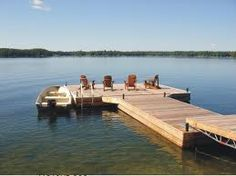 we need a new dock! Lake Dock, Boat Dock, Lake Cottage, Cottage Style, Floating Dock, Lakeside Living, Small Lake, Outdoor Projects, Diy Projects