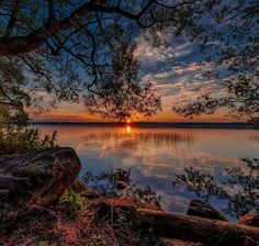 Beautiful Landscape photography : Sunset at Sørup in Esrum, North Zealand, Denmark. Beautiful World, Beautiful Images, Beautiful Gorgeous, Beautiful Moments, Nature Pictures, Cool Pictures, Landscape Photography, Nature Photography, Photography Tips