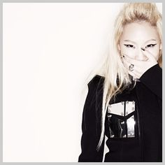 CL from 2NE1.. she gots swag :)
