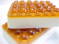 Honey Toffee Soap Massage Olive Oil and Shea Butter Vegan Friendly