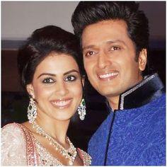 First Wedding Anniversary Of Riteish Deshmukh and Genelia D'Souza