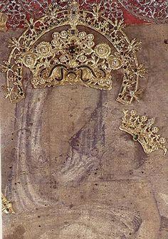 Nuestra Señora del Rosario de Chiquinquirá / 26 de Diciembre / Año: 1586 / Lugar: Chiquinquirá, Boyacá, Colombia / Renovación Milagrosa de la Imagen de la Virgen en presencia de María Ramos, la indígena Isabel y su hijo Miguel de 4 años.