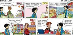Stone Soup Comic Strip, January 27, 2013 on GoComics.com