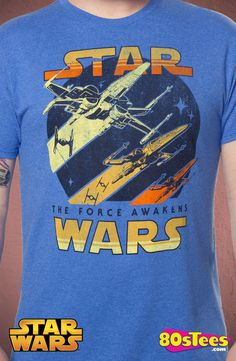 Star Wars Force Awakens Galactic Battle T-Shirt