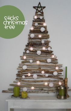 Sticks Christmas tree.