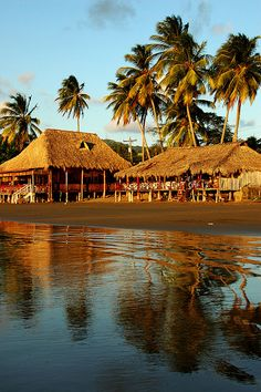 San Juan Del Sur, Nicaragua. San Juan del Sur is popular among surfers and is a vacation spot for many Nicaraguan families and foreign tourists.