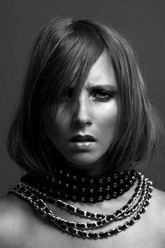 Nikita Klæstrup by Alexander Flemming. Makeup & hair by Isabella Bursche.