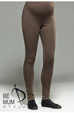 Colanţi maro din bumbac Pants, Fashion, Moda, Trousers, Women Pants, Fasion, Women's Pants, Trendy Fashion, La Mode