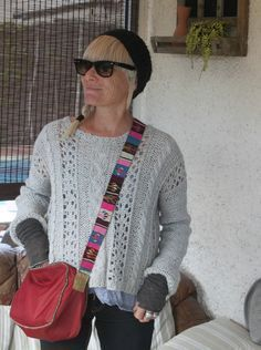DIY ...... Mon pull loose tout doux .......... 18 sts = 4 inches Needle size 8 & 7