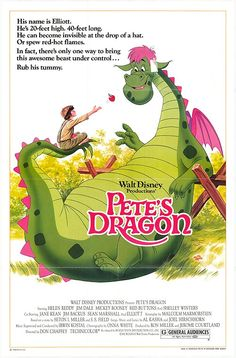 Pete's Dragon, one of my favorite movies from my childhood!