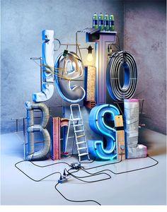 JEITO BRASIL I 3d - manipulação - layout by Alopra Studio, via Behance