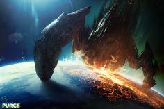 Alien UFO invasion in 2017 2020 Nostradamus and Revelation prophecies. Alien UFO invasion of earth in 2017 Alien takeover of the planet . Spaceship Concept, Concept Ships, Concept Art, Alien Spaceship, Game Concept, Matte Painting, Mass Effect, Cyberpunk, Nova Jerusalem