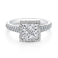 Engagement Rings Square Cut 34