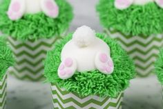 Bunny Butt Cupcakes | Preppy Kitchen