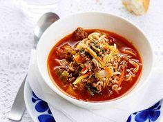 Soup Recipes, Recipies, Chili, Keto, Pasta, Dinner, Baking, Soups, Food