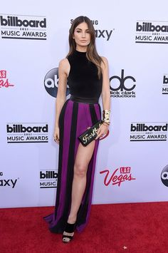 Lily Aldridge in Balmain | All the best looks from the Billboard Music Awards red carpet. See them all here!