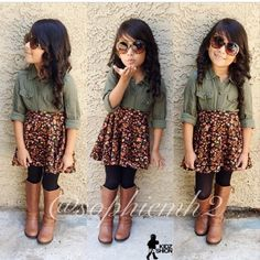 Toddler girl style toddler girl outfits for fall. Cute fall outfits ideas for toddler girls 30 - Fashion Best. Outfits Niños, Cute Fall Outfits, Cute Outfits For Kids, Cute Girls, Casual Outfits, Toddler Girl Style, Toddler Girl Outfits, Toddler Fashion, Kids Fashion