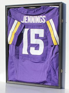 Football Jersey Frame Display Case Shadow Box