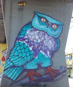 Amazing street art in Sao Paulo