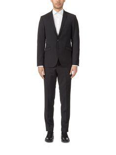 Kuvahaun tulos haulle musta puku Suit Jacket, Breast, Suits, Jackets, Fashion, Down Jackets, Moda, Fashion Styles, Suit