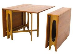 George Nelson 'Gate Leg' dining table
