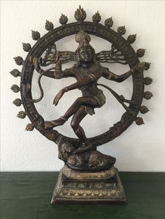 Large bronze Shiva, Nataraja. India. 20th cent.