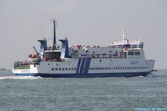Ms Midsland op zee #doeksen #rederijdoeksen #veerboot #veerdienst #Terschelling #Harlingen  (credits foto: Germen de Groot)
