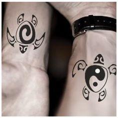 Tatuaggio di Yin Yang, Tartaruga tattoo - TattooTribes.com