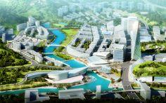 GuLin - A New Rivertown, (Sichuan Province, China), Johnson Fain