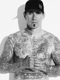 Carey Hart - star of BMX and Motorcross, Husband of International Pop/Rock Star - Pink and owner of all 3 H & H Tattoo (Hart & Huntington) shops in Las Vegas (Palms Casino), Orlando and Niagara Falls