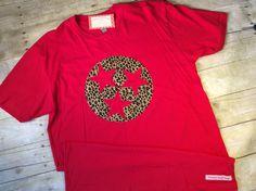 3a521e6ec2651 Items similar to Tri Star Leopard T-shirt