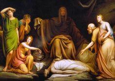 "Detail:: ""Court of Death"" | Rembrandt Peale"