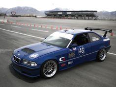 Mark's BMW at Miller Motorsports Park