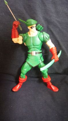 Green Arrow Nude Mattel Retro Action Mego Like Figure-pic782
