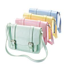 A pastel satchel purses and Belle Étoile's Flower Garden Bracelet make the perfect pair.