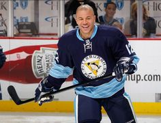 It's hard for me to bad-mouth you, Iggy. But...whatever, man. You had a chance to write your own Ray Bourque story if you only stayed with the Pens for one more year. Now you're chasing a ring in the wrong place. Thanks for the three months and that one fight you did up in Boston.