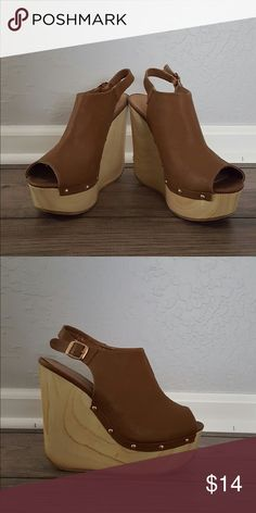 Studded wedges! Another easy summer to fall pair of wedges, wedges are extra awesome because they are also comfty! Soda Shoes Wedges