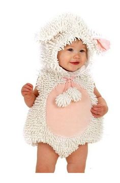 Princess Paradise - Little Lamb Infant / Toddler Costume $49.50 www.teelieturner.com Your cute little lamb will follow everywhere you trick-or-treat!  #babycostume