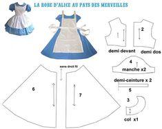 костюм для алисы для куклы выкройка: 20 тыс изображений найдено в Яндекс.Картинках