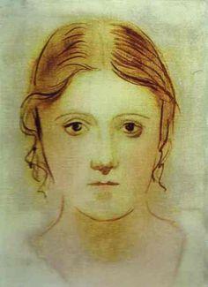 Pablo Picasso | Pablo Picasso - Olga Koklova - First Wife - 1923