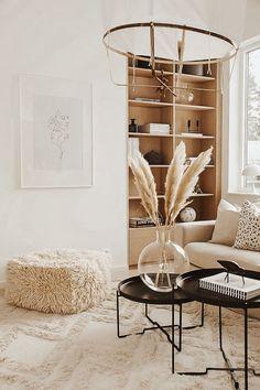 Beige Living Rooms, Boho Living Room, Living Room Interior, Home Interior Design, Living Room Decor, Bedroom Decor, Beige Room, Modern Interior, Living Room Inspiration