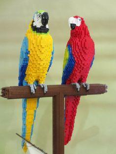 33 Amazing Lego Statues – How to build it Legos, Lego Zoo, Lego Poster, Big Lego, Lego Sculptures, Lego Animals, Amazing Lego Creations, Lego Activities, Lego Craft